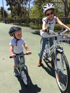 Kids Bike Lesson