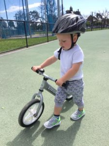 Toddler Bike Lesson
