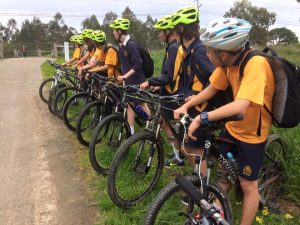 Group Ride along the Yarra River Trail