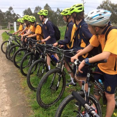 A ride along the Yarra River Trails